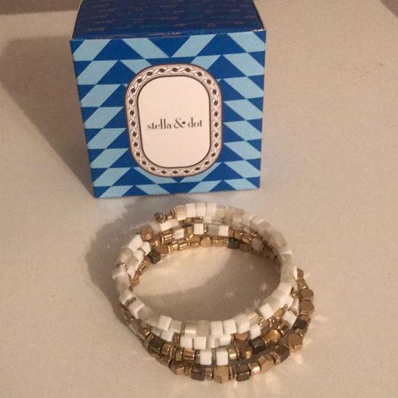 25931af2a9d Stella & Dot Jewelry | Stella And Dot Gia Coil Bracelet | Poshmark